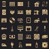 Home Appliance Icons Set. Simple Style Of 36 Home Appliance Vector Icons For Web For Any Design poster