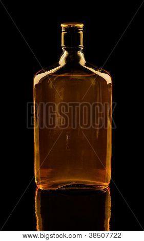 Isolated Whisky On Black