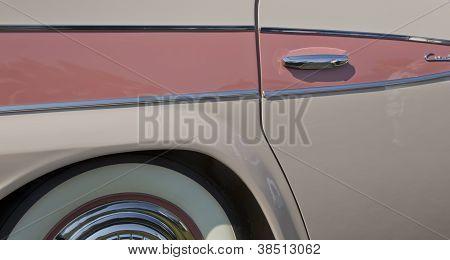 1959 Pink Rambler Side Panel