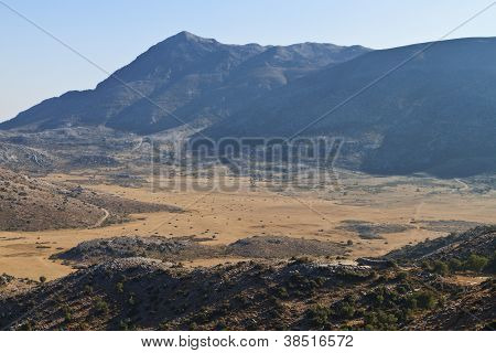 Mountains of Crete island in Greece