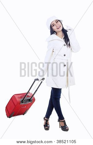 Young Woman Traveller 1