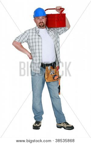 Handyman prepared for any eventuality