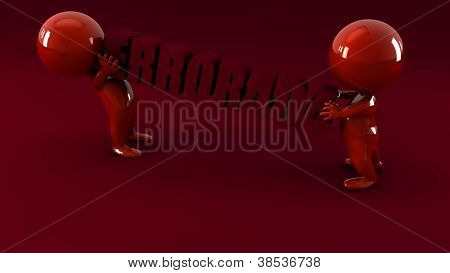 3d people with word power