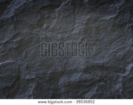 An image of a cool black stone background