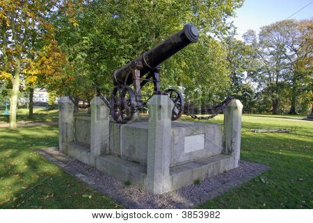 Cannon In Castle Park