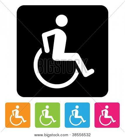 disabled symbol for your design
