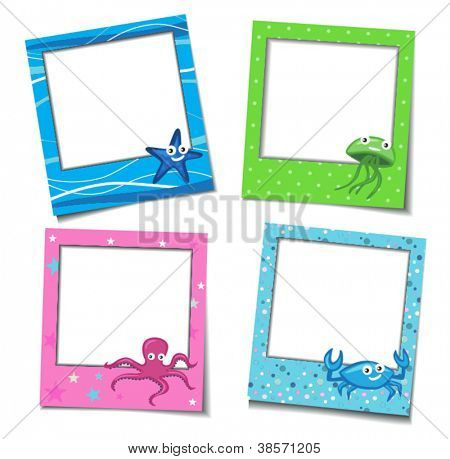Photo Frames With Cartoons