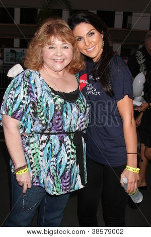 LOS ANGELES - OCT 6:  Patrika Darbo, Nadia Bjorlin attends the Light The Night Walk to benefit The Leukemia & Lymphoma Society at Sunset Gower Studios on October 6, 2012 in Los Angeles, CA