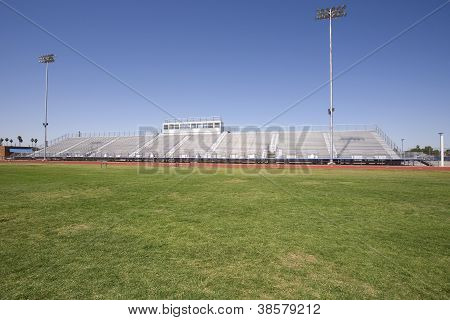 Bleachers And Field