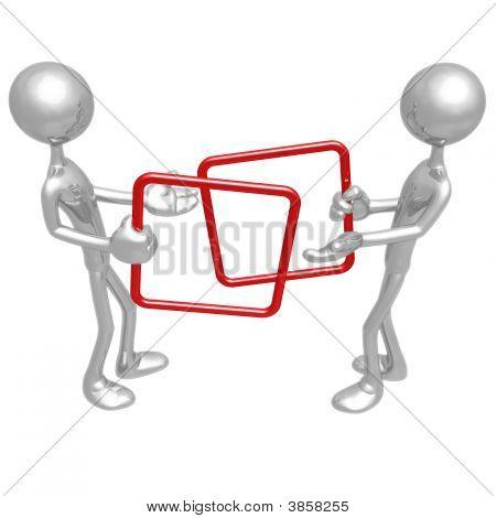 quadratische Handel