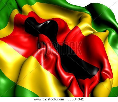 Zimbabwe African National Union Flag