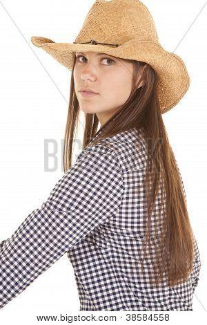 Serious Sit Sideways Cowgirl
