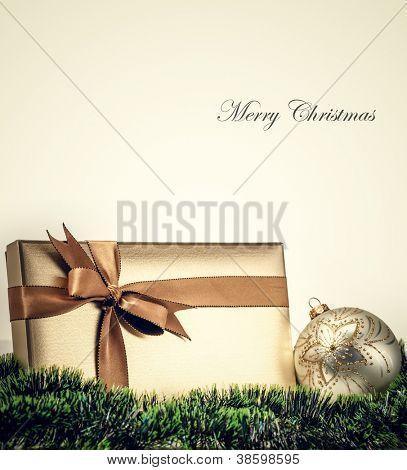 Weihnachts-Geschenk-Karte