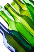 stock photo of plastic bottle  - bottles shapes size colour - JPG