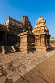 stock photo of chola  - Airavatesvara Temple - JPG