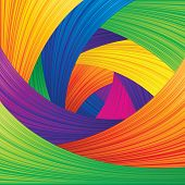 Multicolored Abstract Vector Background