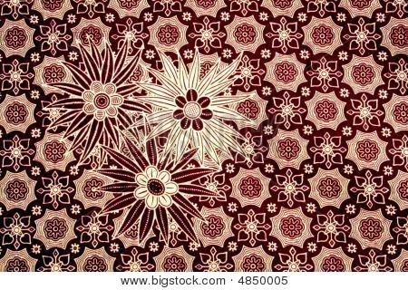 Batik - Flower Pattern
