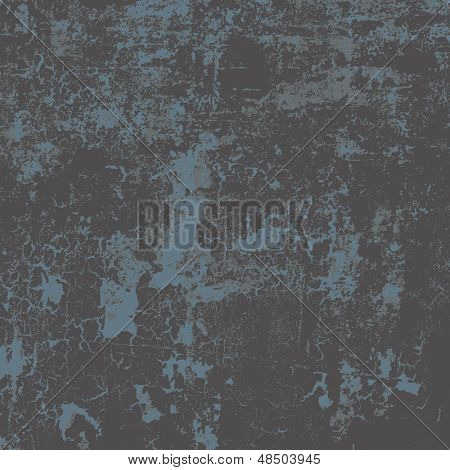 Abstract vector grunge background in three colors, no transparency
