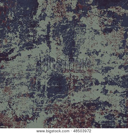 Abstract vector grunge background in four colors, no transparency