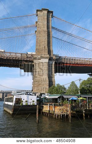Famous The River Cafe in Brooklyn Bridge Park