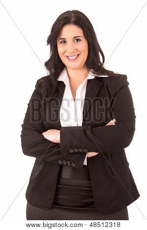 Large Business Woman