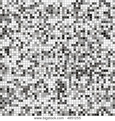 Black, White And Grey Tiles