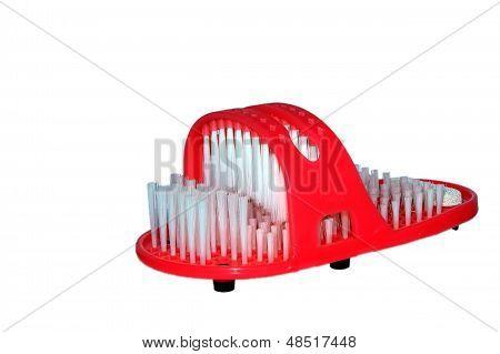Red Slipper Assigned For Cherishing Alloys