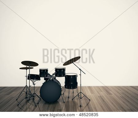 Drums musical tool.