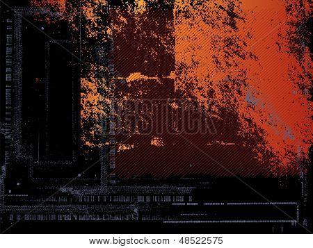 Black red background grunge