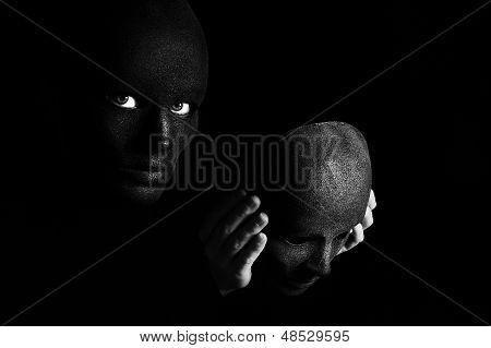 the black mask