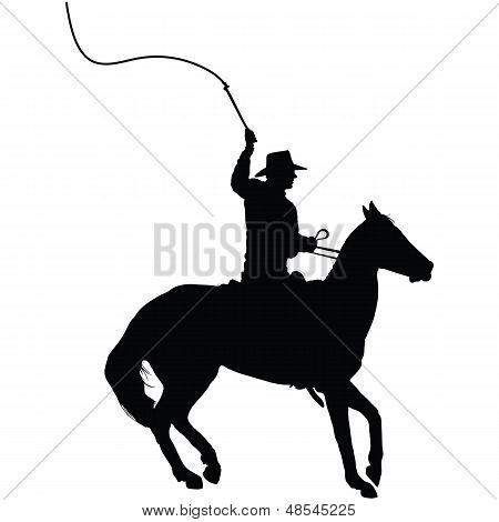 Horseman With Whip