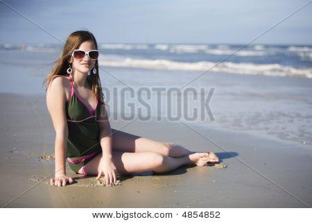 Preteen Beach Beauty