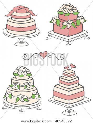 Cute Wedding Cakes