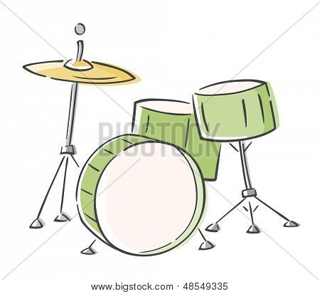 Sketchy Drum Set