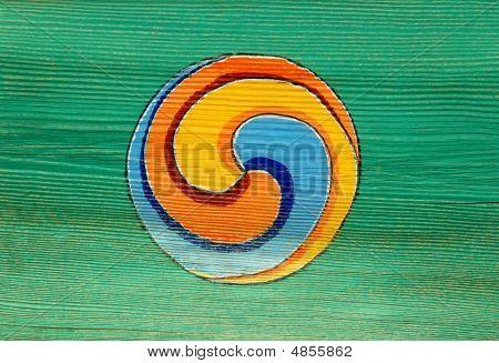 A Traditional Buddhist Symbol