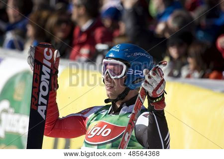 SOELDEN AUSTRIA OCT 26, Benni Raich AUT at the mens giant slalom race at the Rettenbach Glacier Soelden Austria, the opening race of the 2008/09 Audi FIS Alpine Ski World Cup