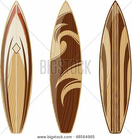 vector de tablas de surf