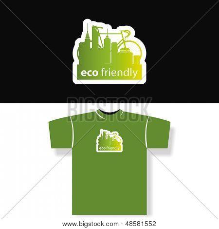 Eco Friendly - T-shirt Design