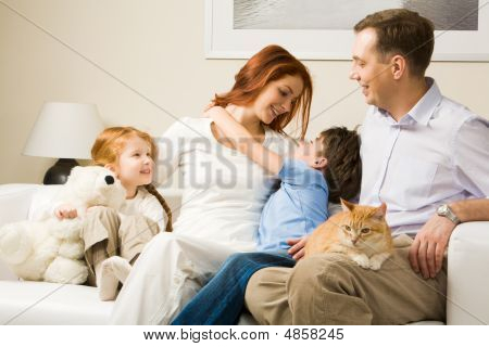 Affectionate Family