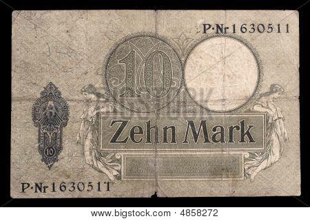 Bank Note Of Keiser Germany. 1906. Reverse.