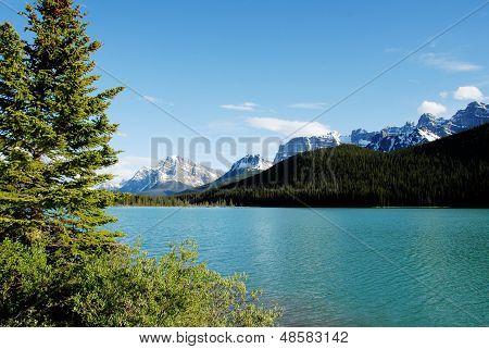 Waterfowl Lake,canadian Rockies,canada