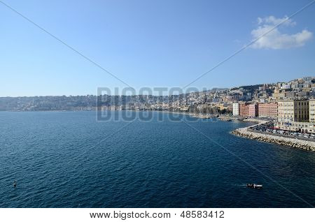 Seaside Of Naples,italy
