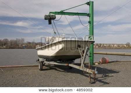Boat Ready For Launch