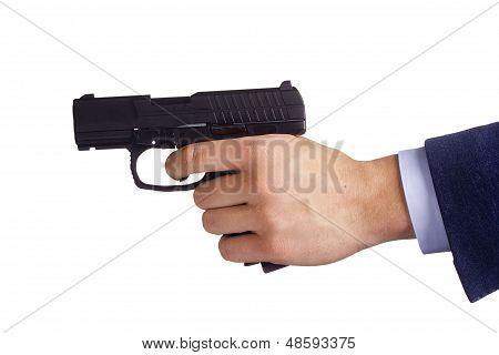 Com pistola