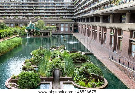 The Barbican And Pond