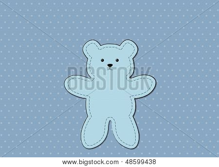 Bear Blue Pattern