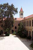 A Quiet Courtyard In Beirut