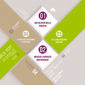 pic of origami  - Modern design infographic template - JPG