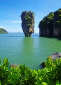 stock photo of james bond island  - james bond island in thailand - JPG