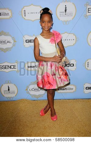 Quvenzhane Wallis at the 6th Annual Essence Black Women in Hollywood Luncheon, Beverly Hills Hotel, Beverly Hills, C A 02-21-13